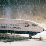Snow freezes UK transports