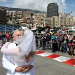 Happy Ex- Formula One Pilot Gets Hitched in Monaco during the Race