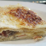 Radicchio and Bechamel Crêpes